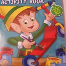 Happy Holidays 160 Page Giant Coloring and Activity Book ~ Christmas Edition (Elf in Woodshop)