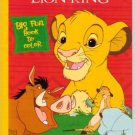 Disney the Lion King Big Fun Book to Color ~ Hakuna Matata