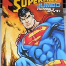Superman Jumbo Coloring & Activity Book