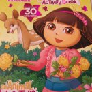 Dora the Explorer Jumbo Coloring & Activity Book with Over 30 Stickers ~ An Animal Adventure