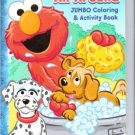 Sesame Street Jumbo Coloring & Activity Book ~ Animals All Around