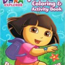 Dora the Explorer Jumbo Coloring & Activity Book