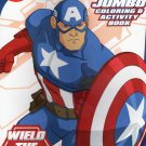 Marvel Avengers - Wield the Shield - Coloring and Activity Book