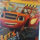 Nickelodeon Blaze Jumbo Coloring & Activity Book, Let's Blaaaze!