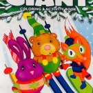 Giant Holiday Christmas Coloring & Activity Book