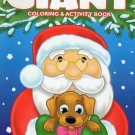Christmas Edition Giant Coloring and Activity Book 160 Page ~ Christmas Winter Holiday Book!