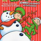 Christmas Jumbo Coloring and Activity Book
