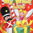 Christmas Jumbo Coloring and Activity Book - My Wish List