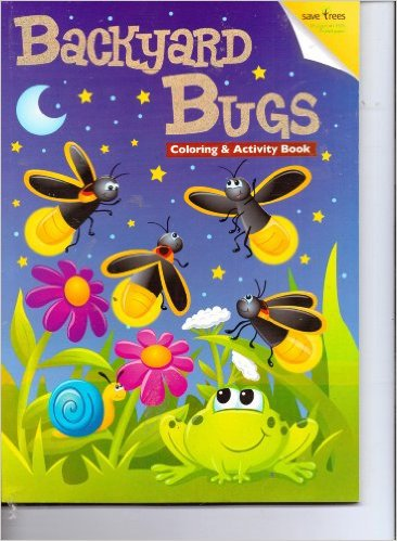 Backyard Bugs Coloring & Activity Book