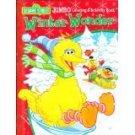 Sesame Street JUMBO Coloring & Activity Book Winter Wonder