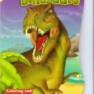 Dinosaurs Shaped Coloring & Activity Book