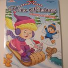 White Christmas Coloring & Activity Book