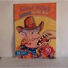 Funny Faces Cowboy Sticker Book