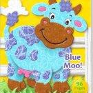 Crayola Big Fun Book to Color ~ Blue Moo