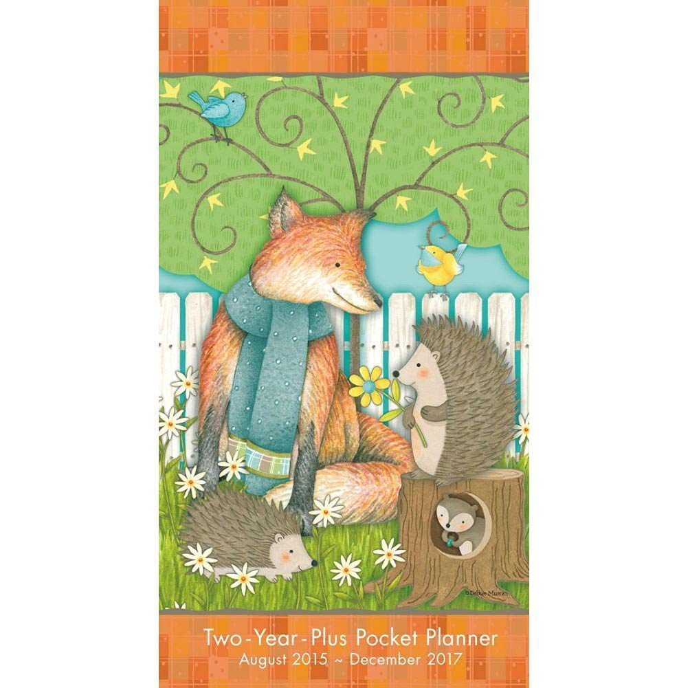 Debbie Mumm Fox 2016 Monthly Pocket Planner by Sellers Publishing