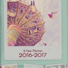 2016-2017 Two Year Monthly Pocket Planner - Vintage Snapshots
