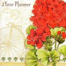 Vintage Florals - 2016 - 2017 2 Year Monthly Planner