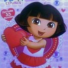 32 Dora the Explorer Valentines - Plus 35 Stickers