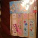 Disney Princess - 3 WOOD GAMES including Dominoes, Number Match, Color Match. Age 3-8