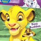Disney Animal Friends Big Fun Books to Color, 96 Pages - Assorted