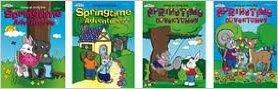 Springtime Adventures Coloring & Activity Book