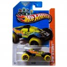 Hot Wheels 2013 Hw Stunt Da'kar 89/250 Yellow