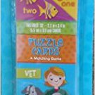 3 Educational Card Games 123's Puzzle Cards & Build-a-Word (Good Grades)