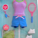 DORA Explorer Girls SPORTS STYLE FASHIONS Outfit w On-Line SOCCER CODE (2009)