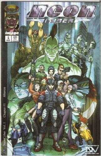 Neon Cyber #1: Alliance August 1999.  Adrian Tsang