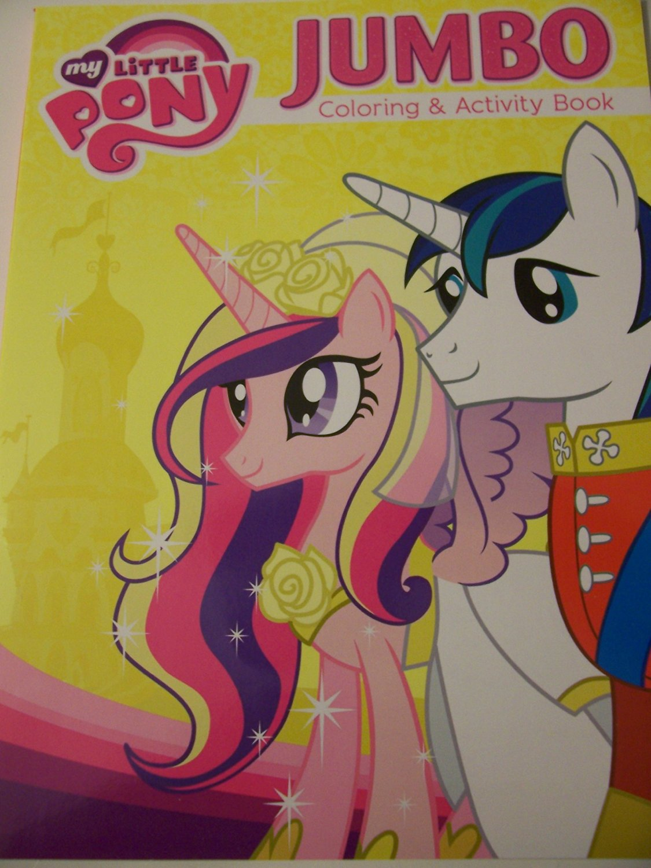 My Little Pony Friendship is Magic Jumbo  ~ Side by Side, Princess Cadance & Shining Armor