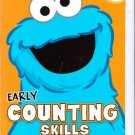 Sesame Street Counting Skills Educational Workbook
