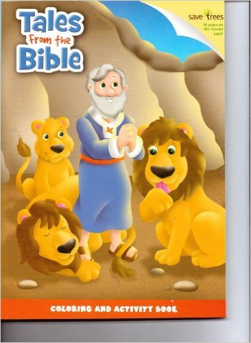 Tales From the Bible Coloring & Activity Book