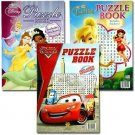 Disney Puzzle Books W/ Stickers - Assorted