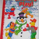 Sesame Street Christmas Coloring & Activity Book ~ Holiday Play