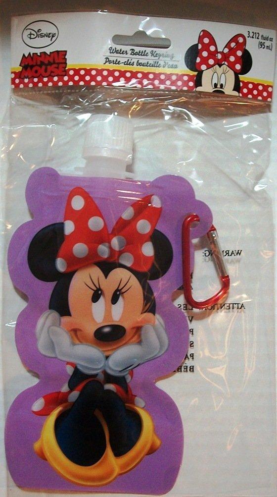 Disneys Minnie Mouse Water Bottle Keyring