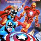 The Mighty Avengers Big Fun Book to Color ~ Saving the World!