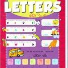 Dry Erase Wipe-Clean Book ~ Letters
