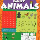 Dry Erase Wipe-Clean Book ~ Baby Animals