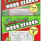 Christmas Word Search 2 Volume Set