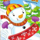 Christmas Magic Coloring & Activity Book ~ Snowman Fun!