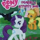 My Little Pony JUMBO Coloring & Activity Book ~ Rarity & Applejack