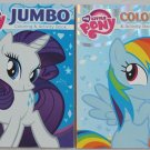 My Little Pony  Coloring and Activity Book Bundle with Rarity & Rainbow Dash - Assorted