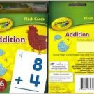 Crayola Addition Flash Cards