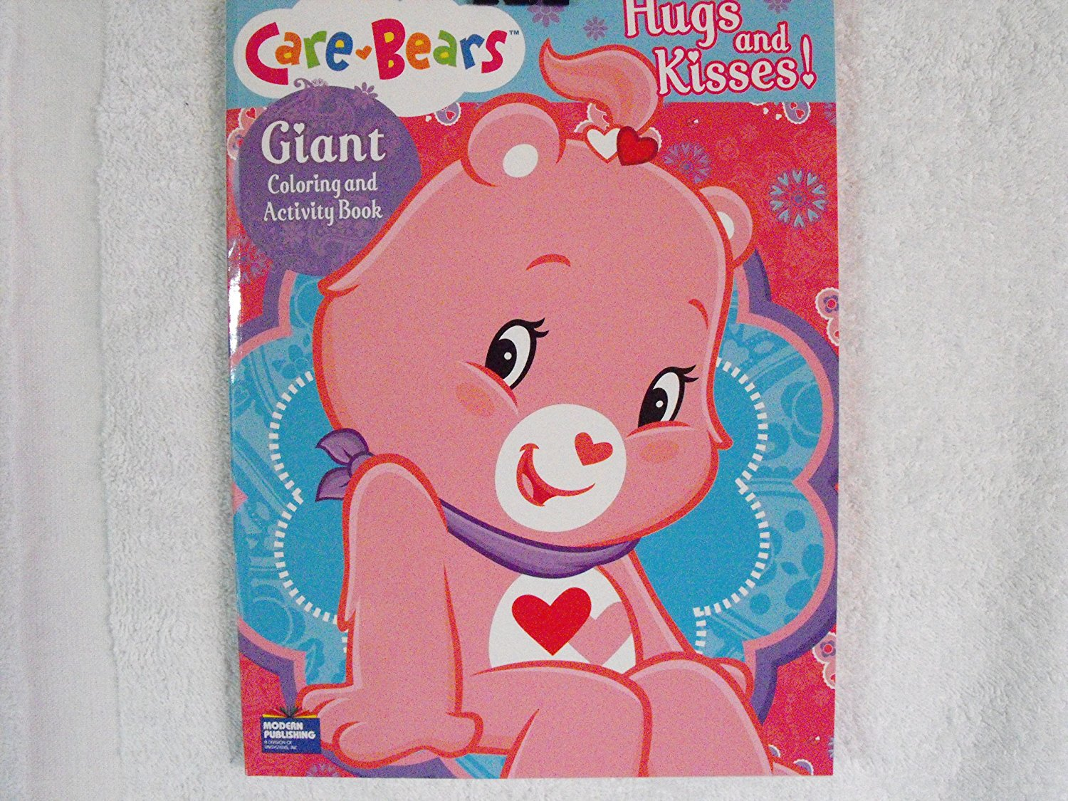 Care Bears Hugs & Kisses! 96 Pages ~ Share Bear Coloring & Activity Book