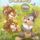 Bunnies, Bunnies, Bunnies (Disney Bunnies) Sticker Book