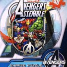 Avengers Logo Shaped Jigsaw Puzzle Comic Version - 48 Pieces