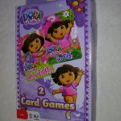 Dora The Explorer Set of 2 Card Games - Crazy Eights and Go Fish
