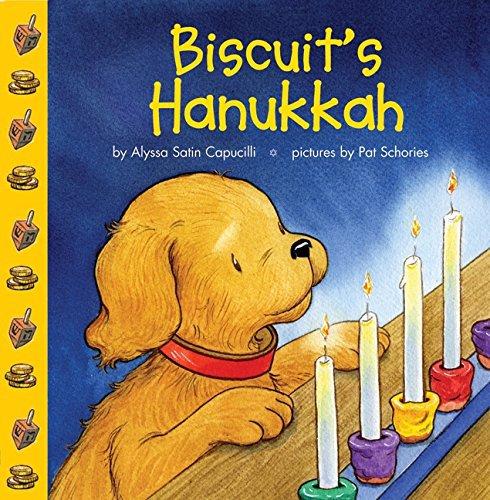 Biscuit's Hanukkah Board book.  Alyssa Satin Capucilli