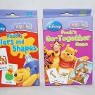 Set of 2 I Can Learn with Pooh Colors & Shapes and Pooh's Go Together Game