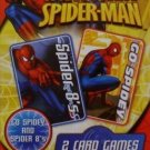 Spider Sense Spider-man Card Games ( Two Card Games, Spider 8's And Go Spidey)